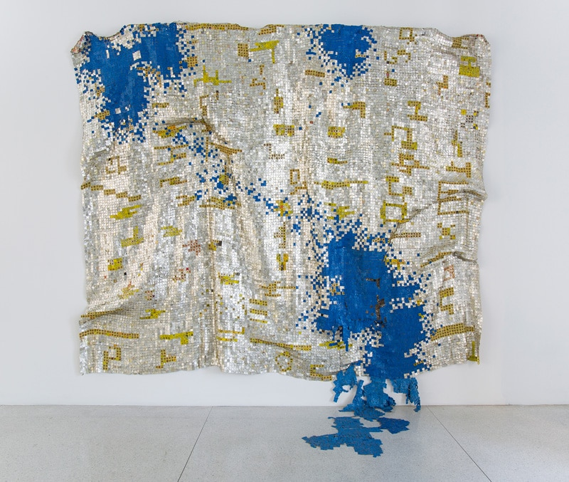 Image from Monumental Works by El Anatsui