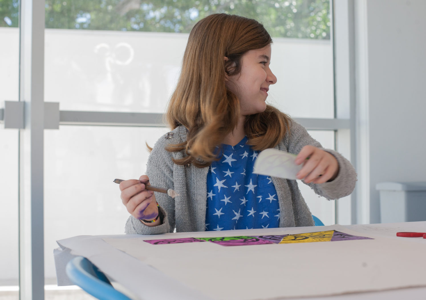 Image of student in Art for Kids